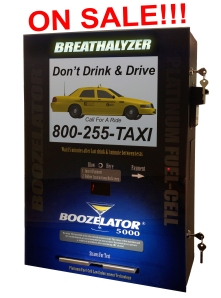 bar breathalyzer vending boozelator